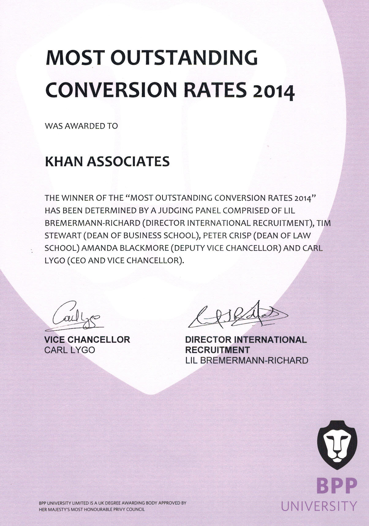 Most Outstanding Conversion Rates 2014